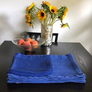 Crate&Barrel  set of 8 Placemats/Lamont Napkins
